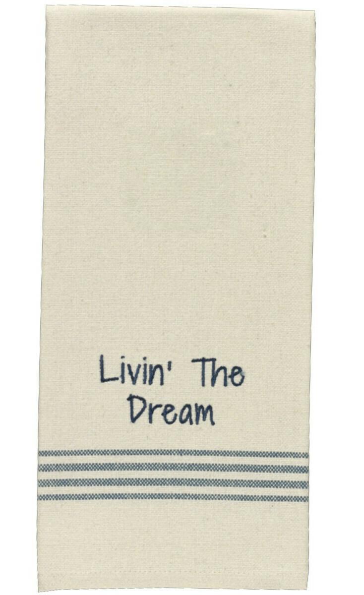 Livin' the Dream Dishtowel