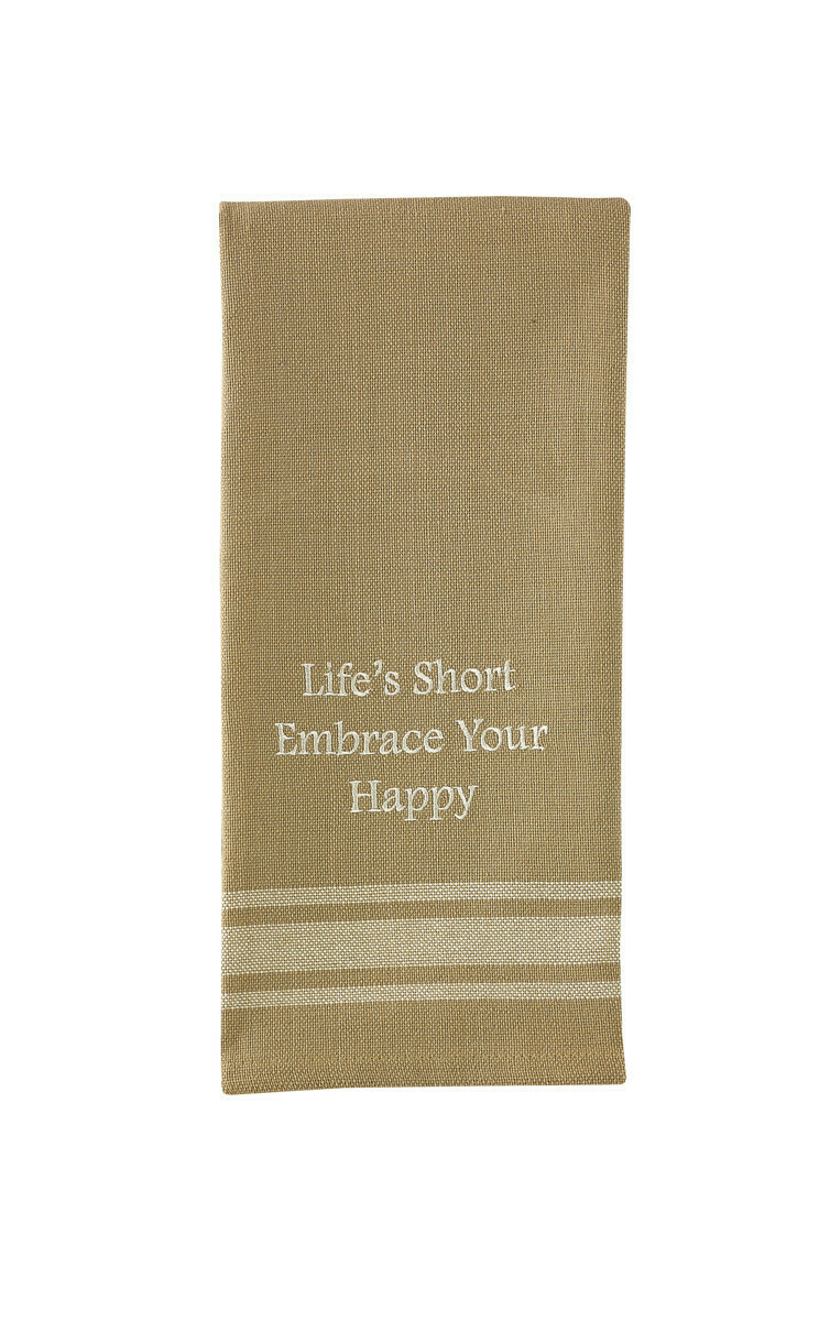 Embrace Your Happy Dishtowel