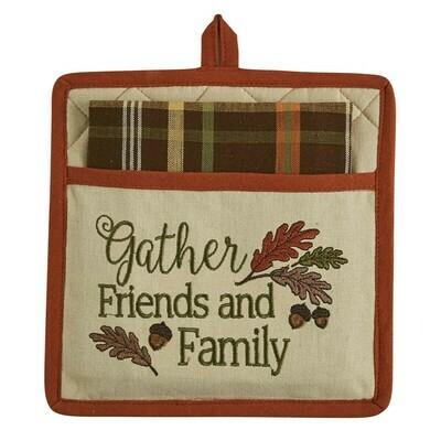 Gather Friends Pocket Potholder Set