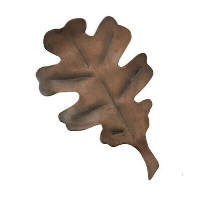 Copper Finish Leaf Napkin Ring