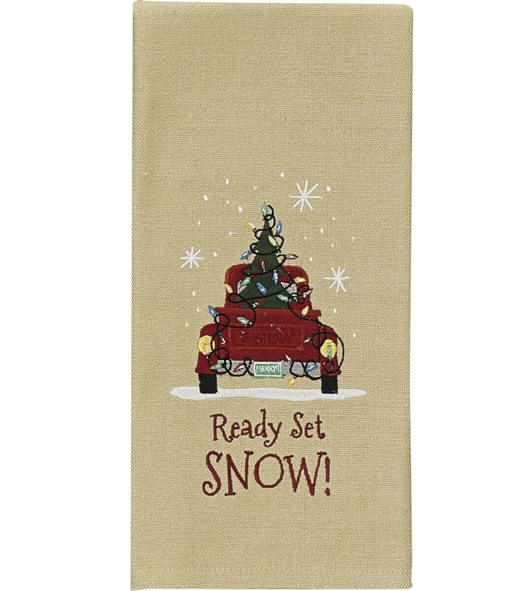 Ready Set Snow Dishtowel
