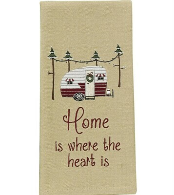 Home Is Where The Heart Is Dishtowel