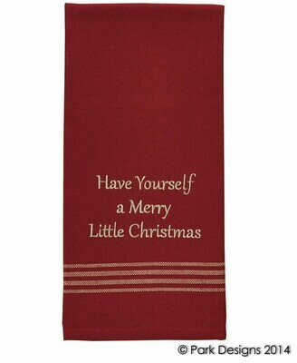 Have Yourself A Merry Christmas Dishtowel