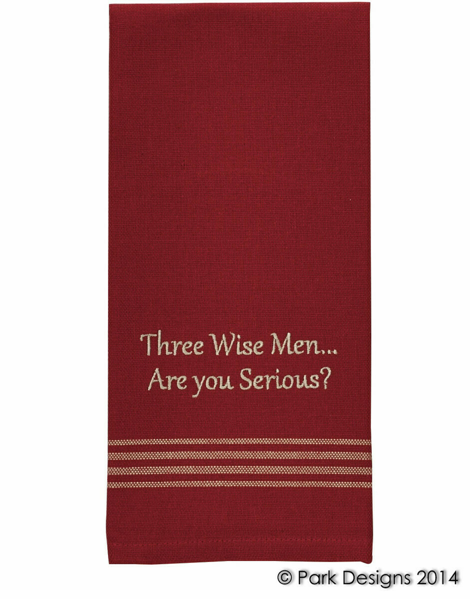 Three Wise Men Dishtowel