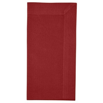 Red Simply Holly Napkin