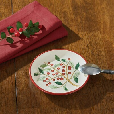 Simply Holly Spoon Rest