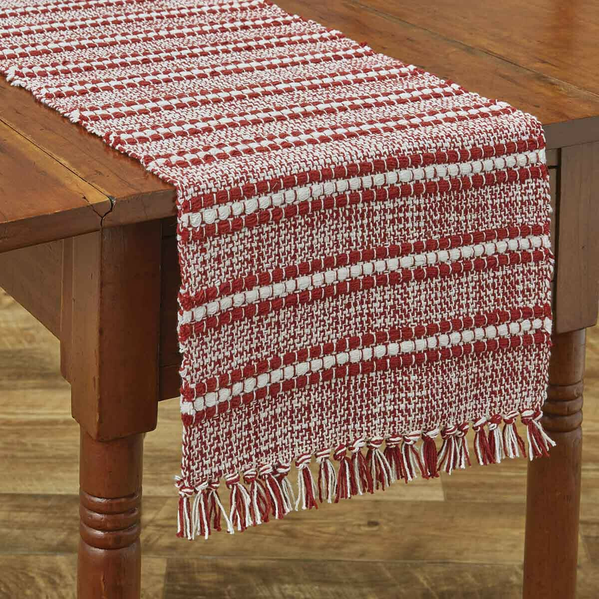 "Peppermint Stripe 36"" Runner"
