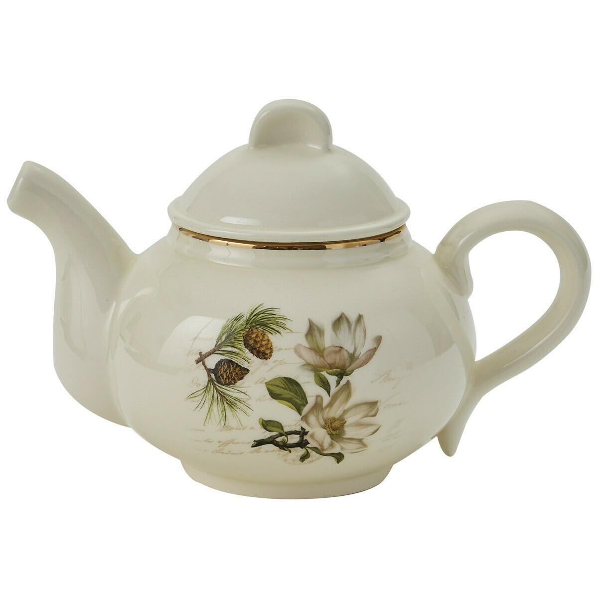 Wintertime Teapot