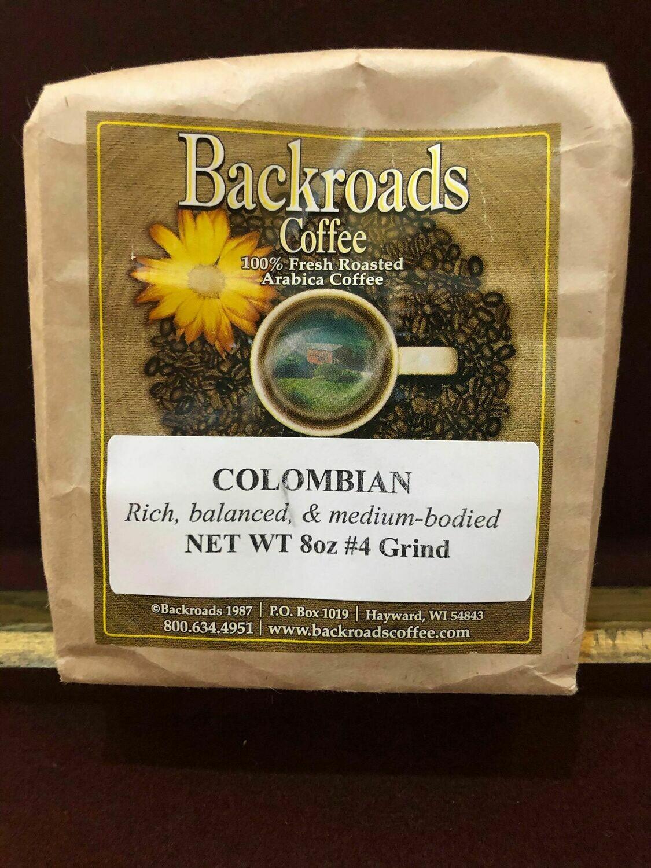 Colombian 8 oz Coffee