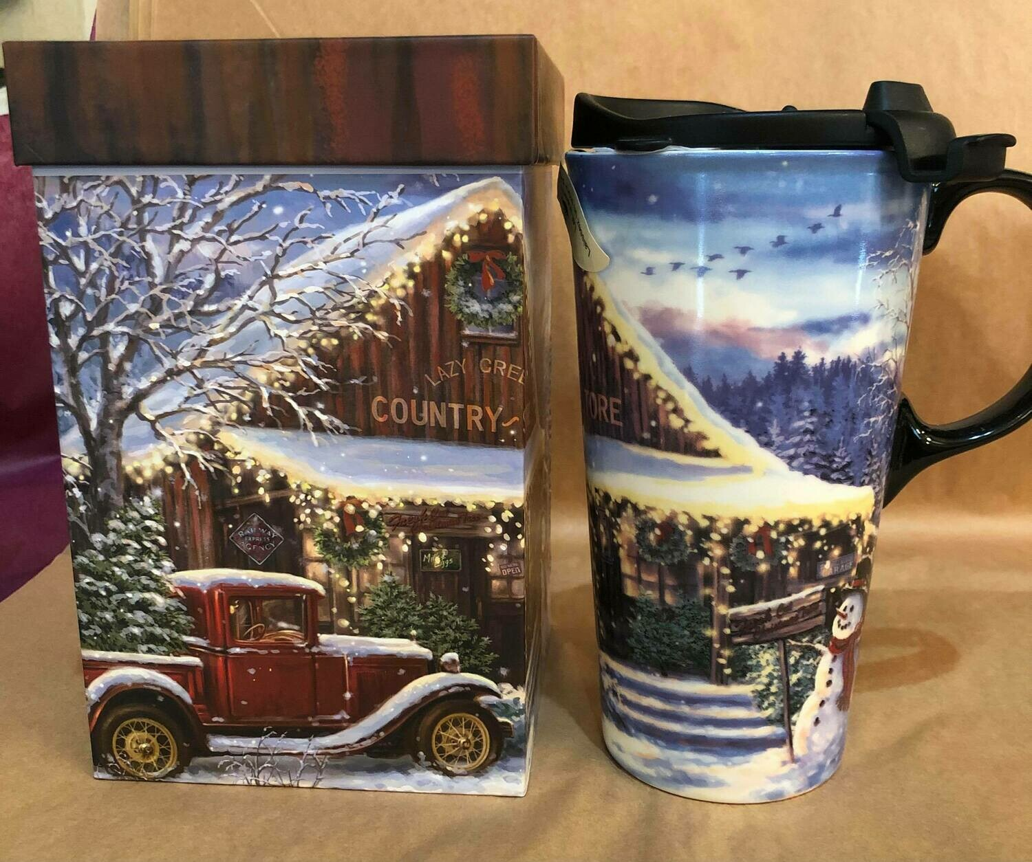 Christmas Truck Travel Mug