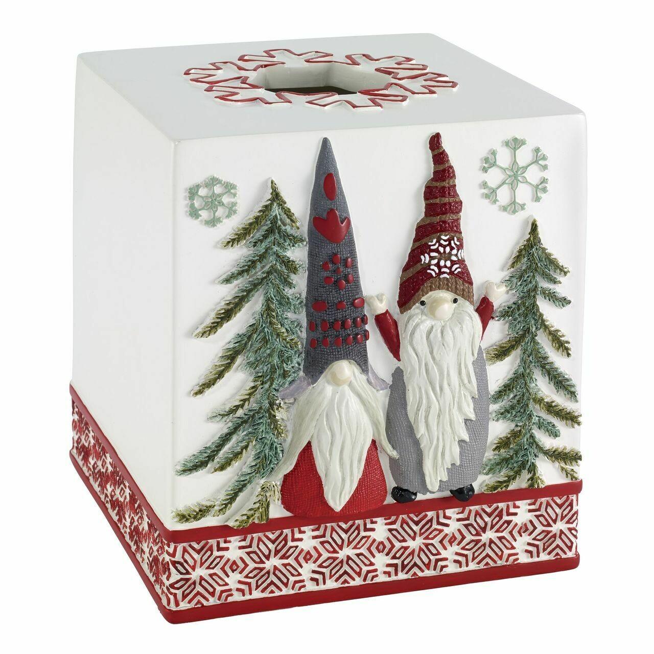 Christmas Gnomes Tissue Cover