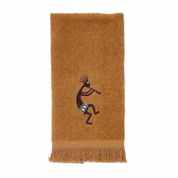 Kokopelli Fingertip Towel