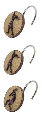 Kokopelli Shower Curtain Hook