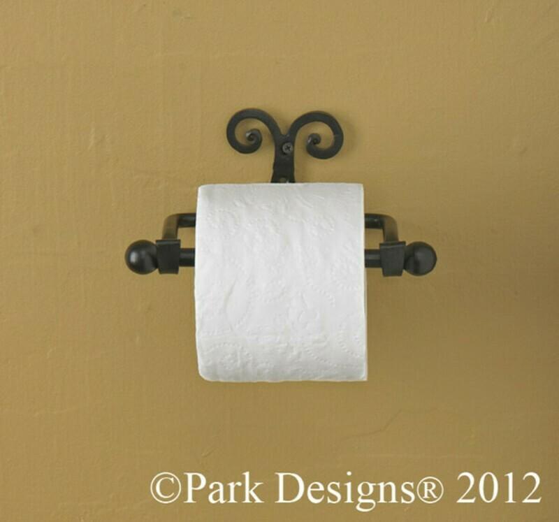 Scroll Toilet Tissue Holder