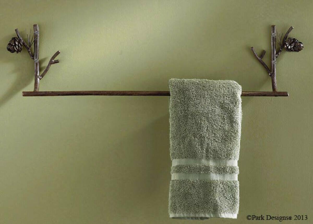 "Pine Lodge 24"" Towel Bar"