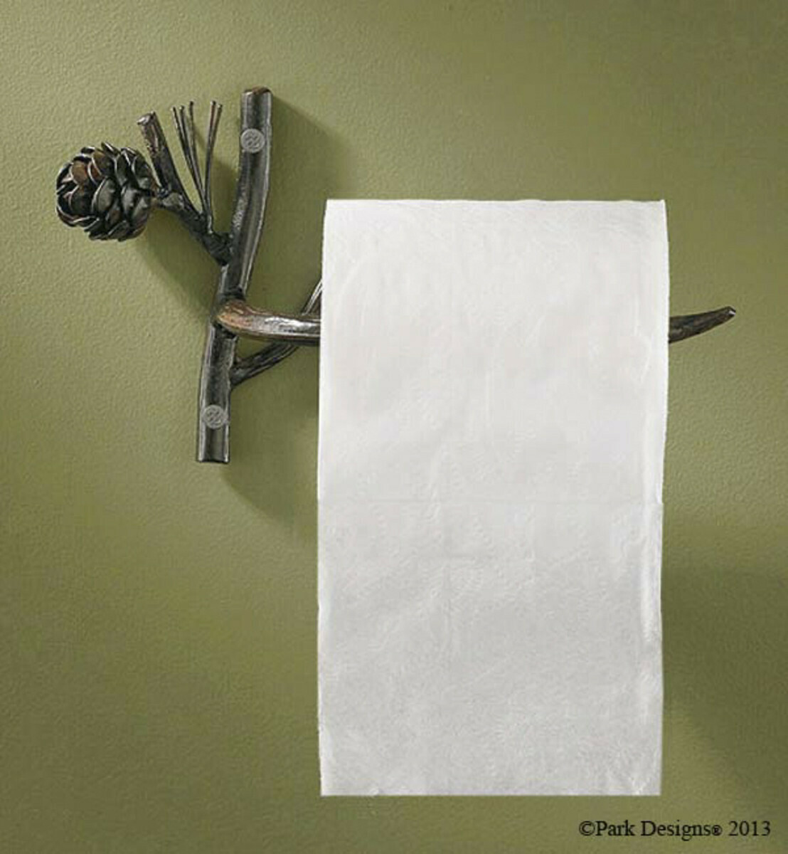 Pine Lodge Toilet Tissue Holder
