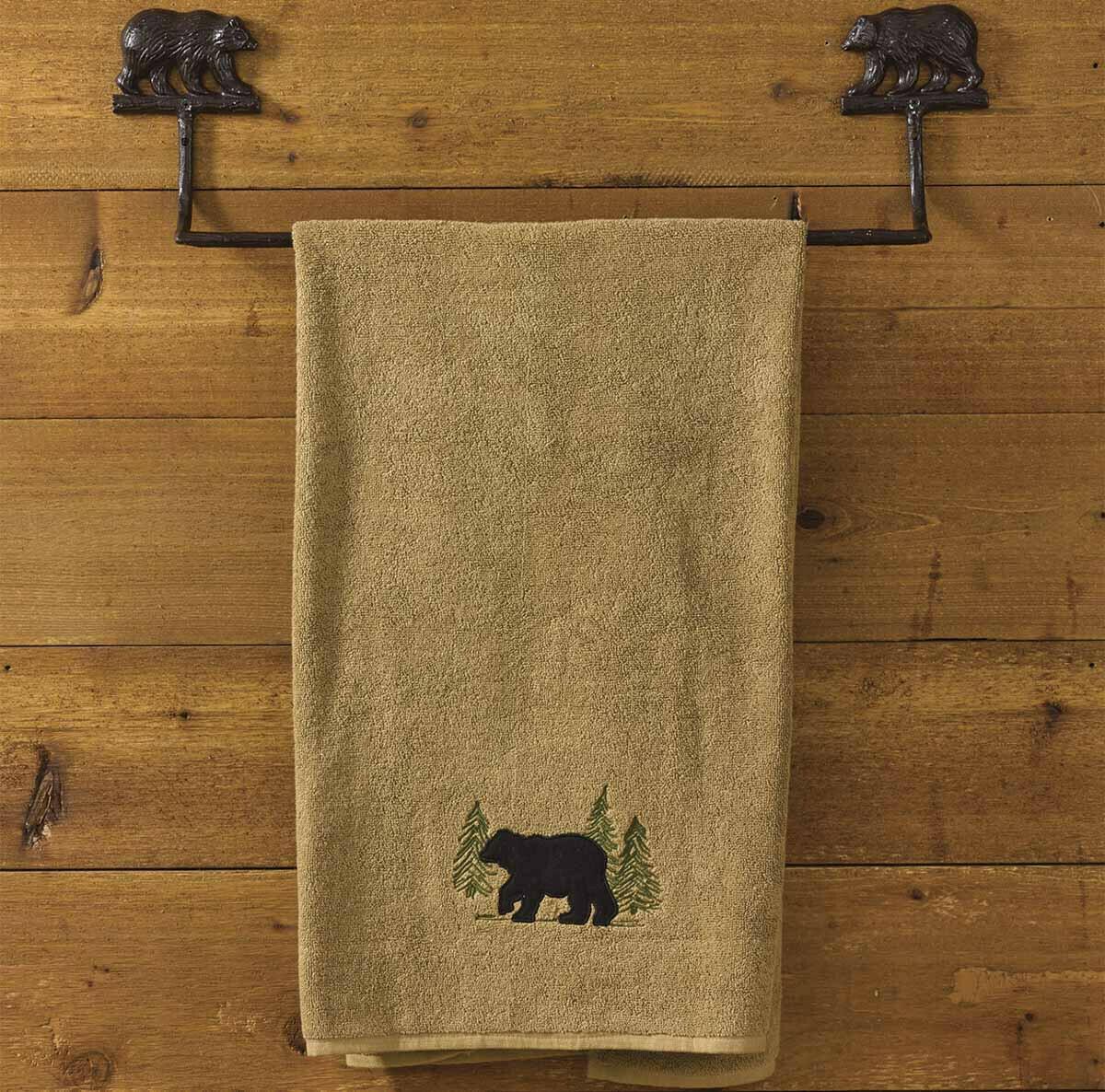 "Cast Bear 24"" Towel Bar"