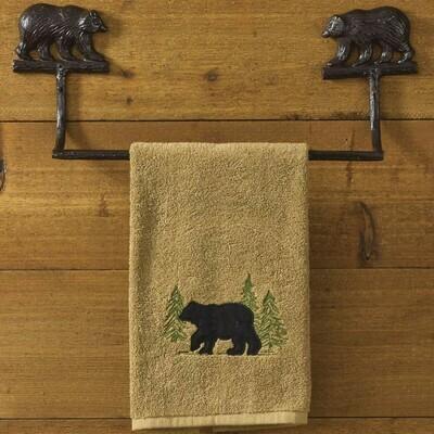 "Cast Bear 16"" Towel Bar"