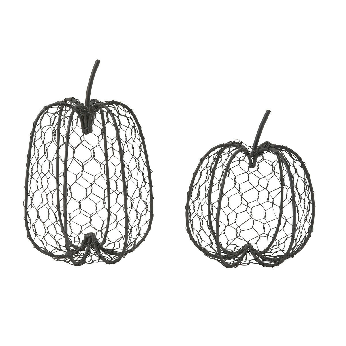 Large Chicken Wire Pumpkin
