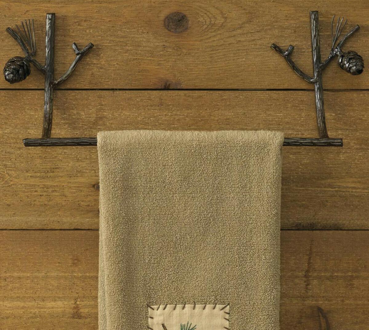 "Pine Lodge 16"" Towel Bar"