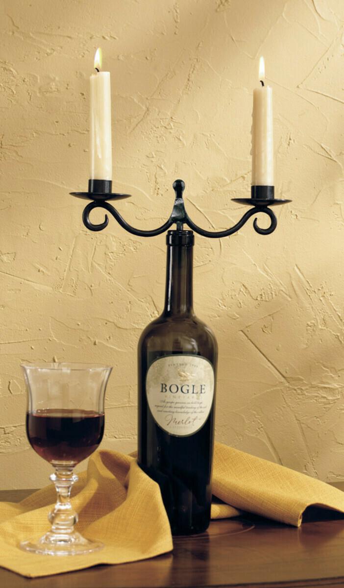 Scroll Wine Bottle Topper