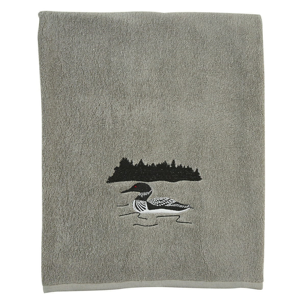 Grey Area Loon Bath Towel