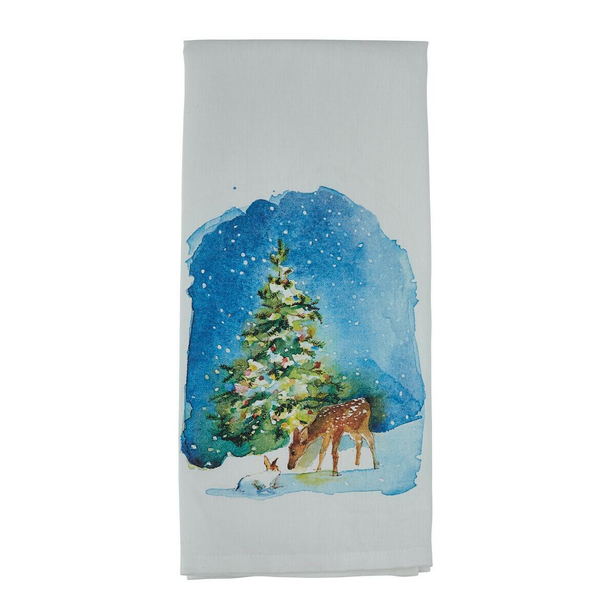 Quiet Winter Printed Towel