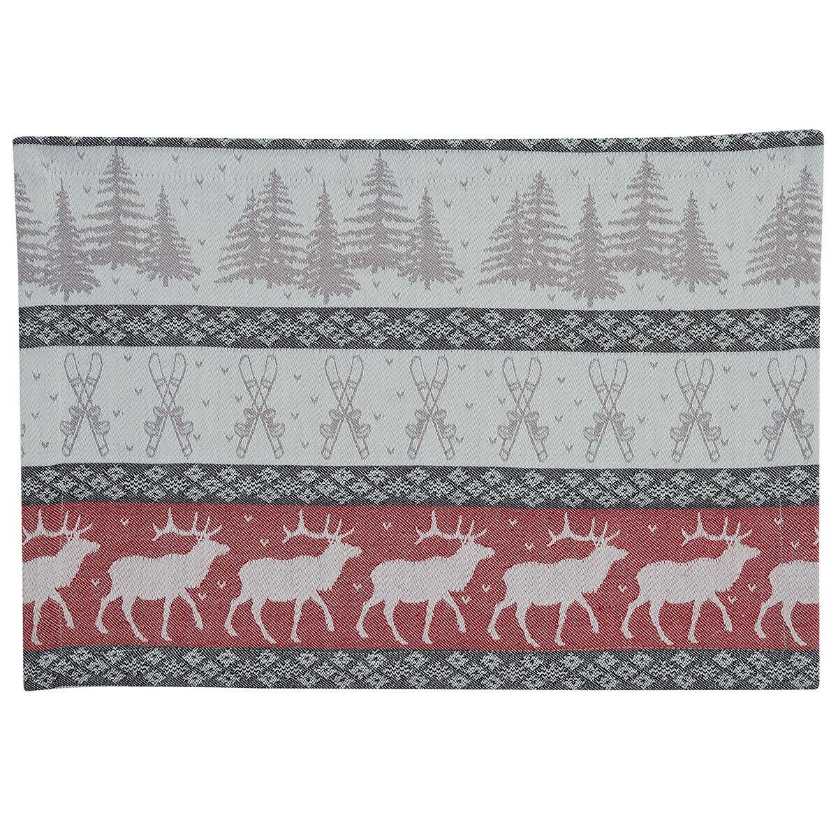 Reindeer Jacquard Placemat