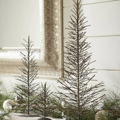 Large Natural Metal Tree
