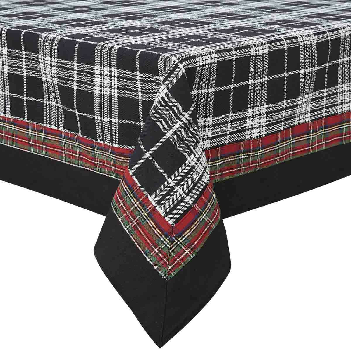 "Touch of Tartan 60""X84"" Tablecloth"