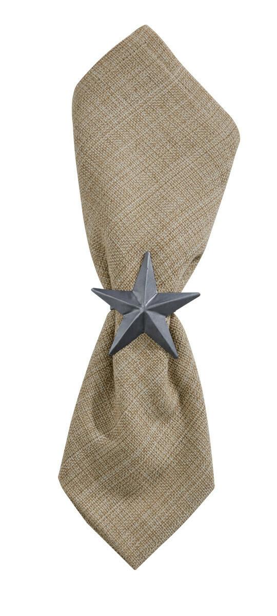 Star Galvanized Napkin Ring