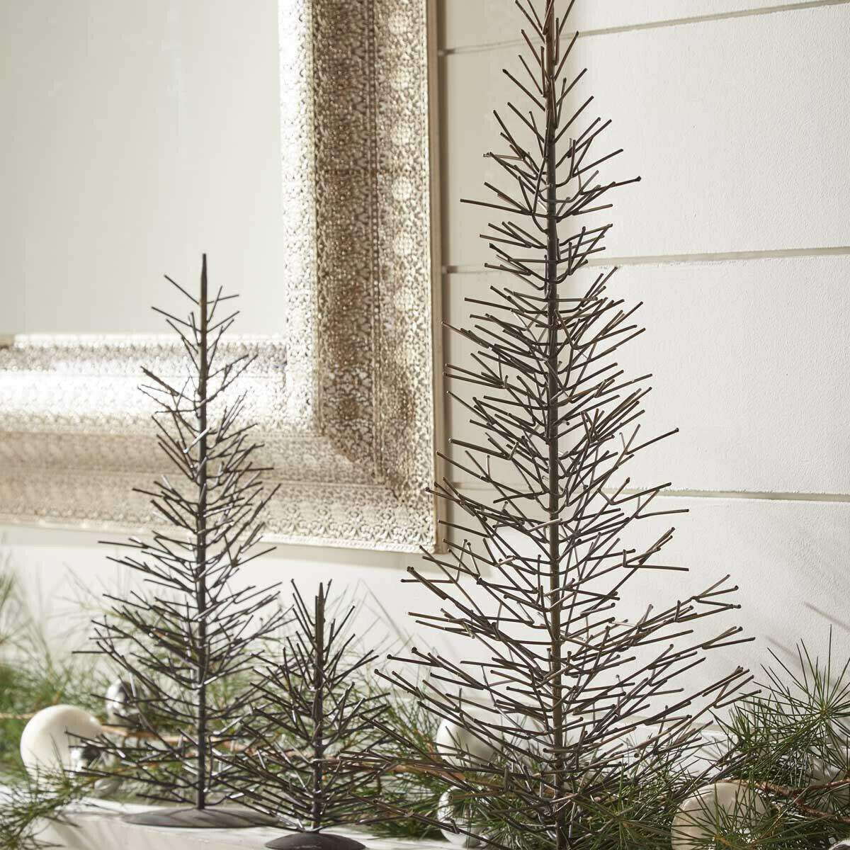 Medium Natural Metal Tree