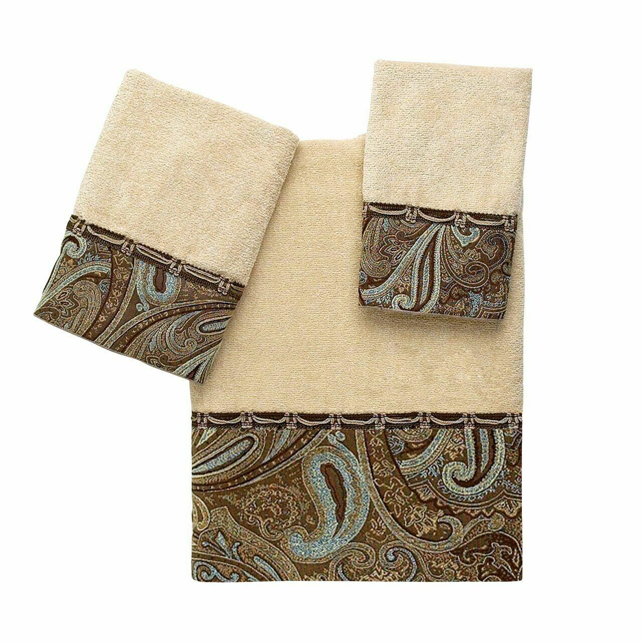 Linen Bradford Fingertip Towel