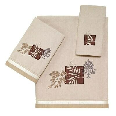 Beige Serenity Fingertip Towel