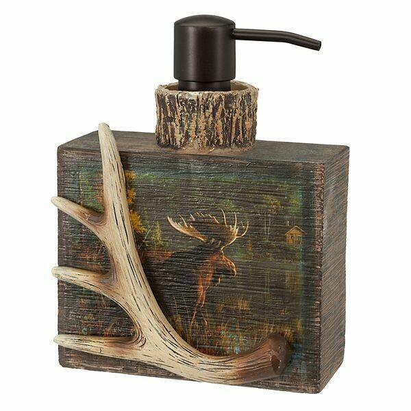 Back Bay Moose Soap Dispenser