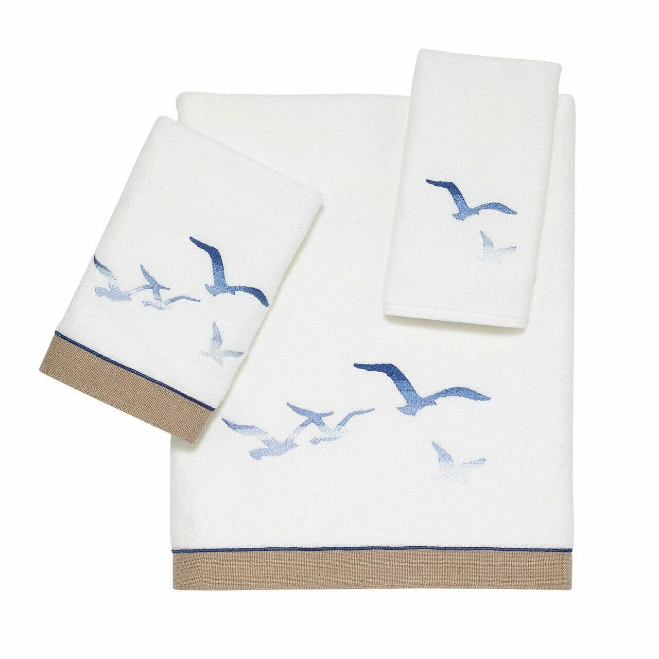 Seagulls Bath Towel
