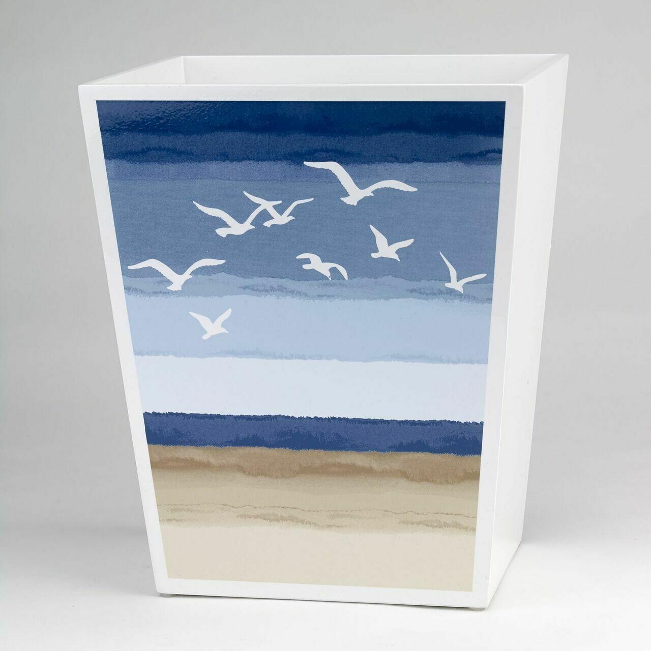 Seagulls Wastebasket