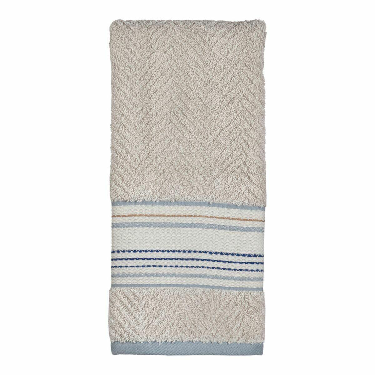 Ticking Stripe Wash Cloth