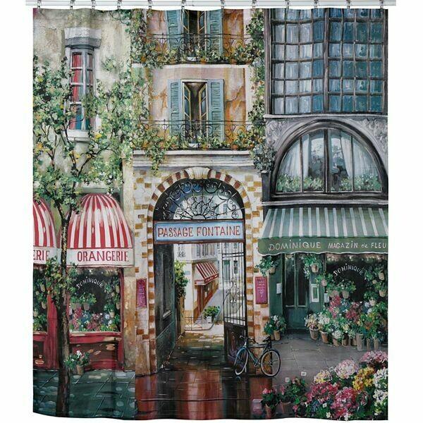 Rue De Rivoli Shower Curtain