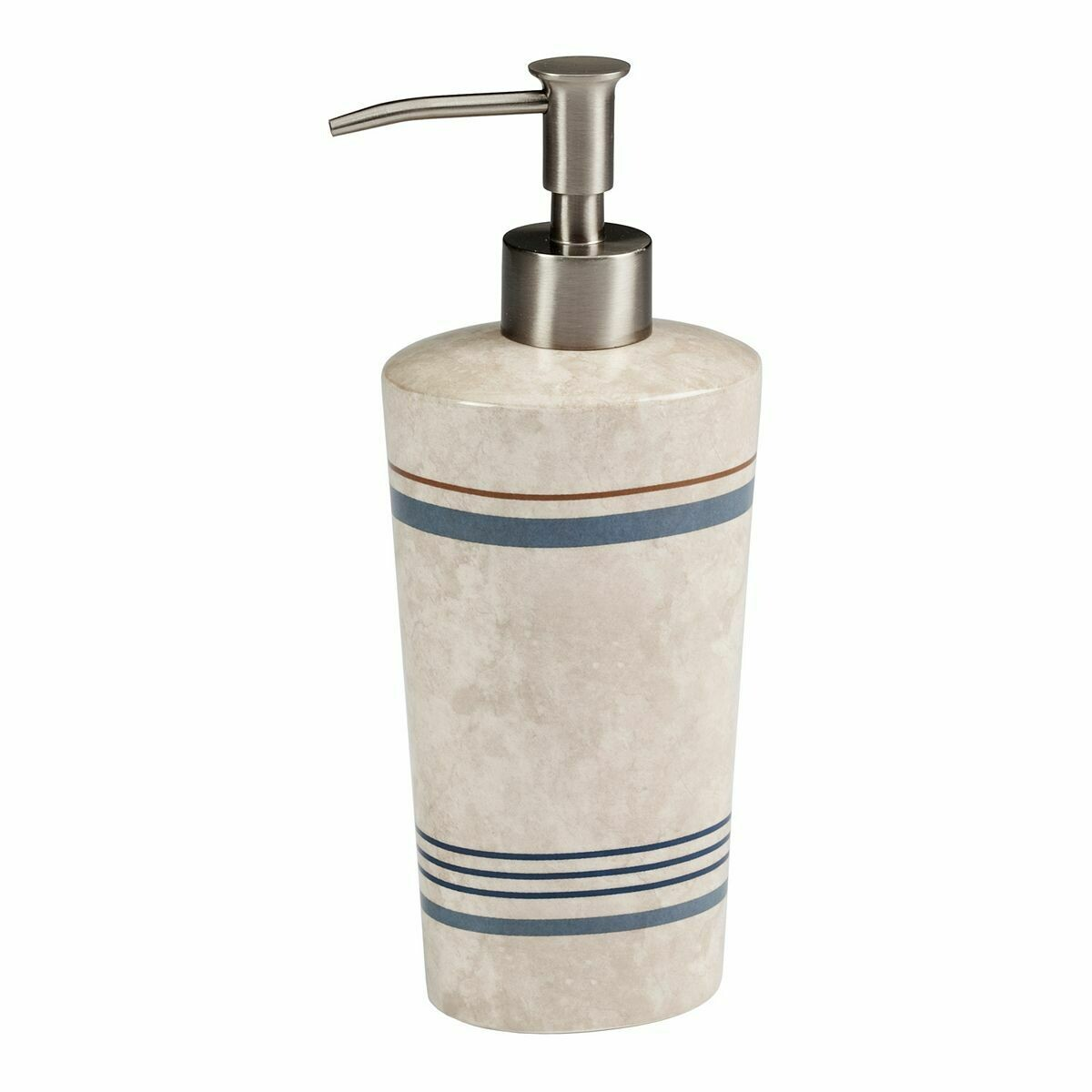 Ticking Stripe Soap Dispenser