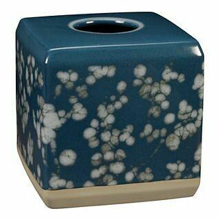 Indigo Blossom Tissue Cover