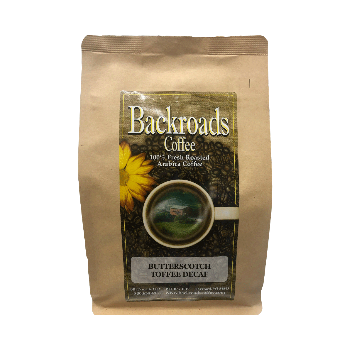 Butterscotch Toffee Decaf 8 oz Coffee