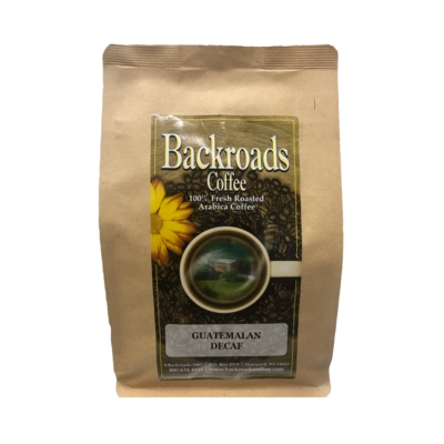 Guatemalan Decaf 8 oz Coffee