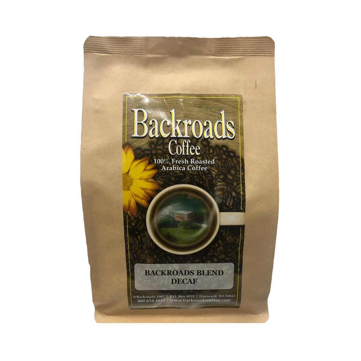 Backroads Blend Decaf 8 oz Coffee