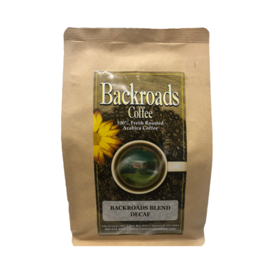 Backroads Blend Decaf 8 oz Coffee