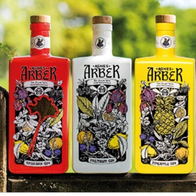 Dbl Aber Gin all flavours