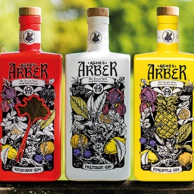 Arber Gin all flavours