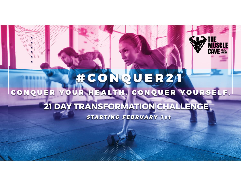 #CONQUER21