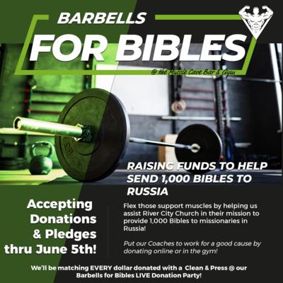 Barbells for Bibles