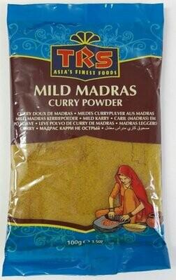 TRS MADRAS CURRY POWDER MILD 100GM